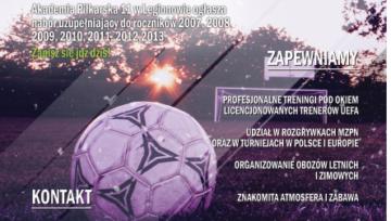 UWAGA ❗️ Akademia Piłkarska 11 organizuje nabór uzupełniający 🔝⚽️💪
